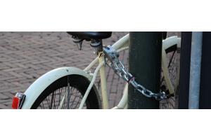 Beveilig jouw fiets tegen diefstal