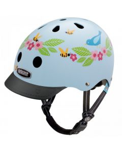 Nutcase - Little Nutty - Bluebirds & Bees - Kinderhelm (48-52cm)