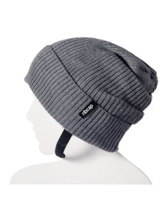 Ribcap - Lenny Grey Medium - 56-58cm