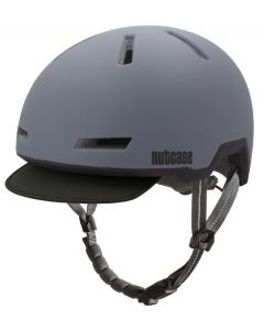 Nutcase - Tracer Shadow Grey - S/M - Fietshelm (52-56 cm)