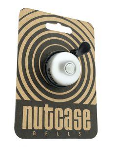 Nutcase - Fietsbel - Blanco - Thumbdinger
