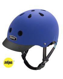 Nutcase - Little Nutty - Blue Bubbles - MIPS - Kinderhelm (48-52cm)