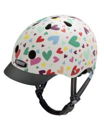 Nutcase - Little Nutty - Happy Hearts - Kinderhelm (48-52cm)