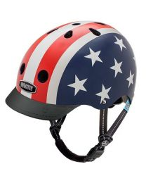 Nutcase - Little Nutty - Stars & Stripes - Casque pour enfants (48-52cm)