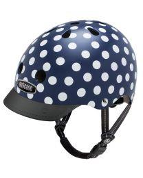 Nutcase - Street Navy Dots - L - Casque de vélo (60-64cm)