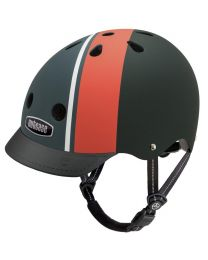 Nutcase - Street Element Stripe Matte - M - Fietshelm (56-60cm)