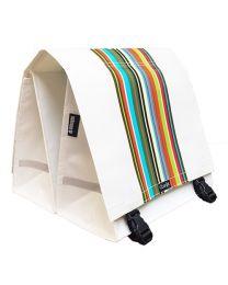Clarijs - Technicolor XL - 44L - Sacoche de vélo