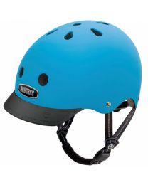 Nutcase - Street Bay Blue Matte - M - Casque de vélo (56-60cm)