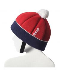 Ribcap - Ribcap Freddie Red/Marine Maxi Kids - 55-55cm
