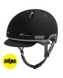 Nutcase - Tracer Minuit Noir Mips Mat - M/L - Casque de vélo (56-60 cm)