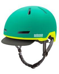 Nutcase - Tracer Aurora Green Matte - S/M - Fietshelm (52-56 cm)