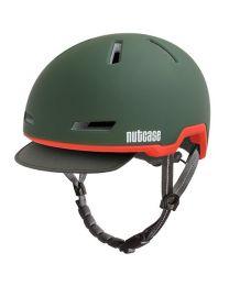 Nutcase - Tracer Cascade Green Matte - S/M - Fietshelm (52-56 cm)