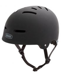 Nutcase - The Zone Black Matte - L - Sporthelm (58-62 cm)