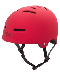 Nutcase - The Zone Red Matte - S - Sporthelm (50-54 cm)