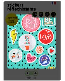 Rainette - Reflecterende Stickers - Be Green