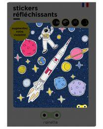 Rainette - Stickers Réfléchissants - Espace