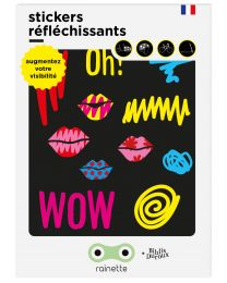 Rainette - Reflecterende Stickers - Kiss