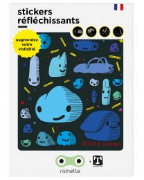 Rainette - Reflecterende Stickers - Safety friends