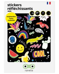 Rainette - Reflecterende Stickers - Pep's