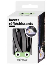 Rainette - Reflecterende Veters - Zwart