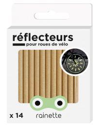 Rainette - Réflecteurs pour roues de vélo - Or