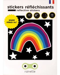 Rainette - Reflecterende Stickers - Rainbow