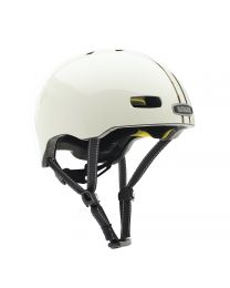 Nutcase - Street Leather Bound Stripe Goss MIPS - M - Casque vélo (56 - 60 cm)