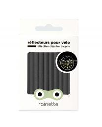 Rainette - Réflecteurs pour roues de vélo - Noir