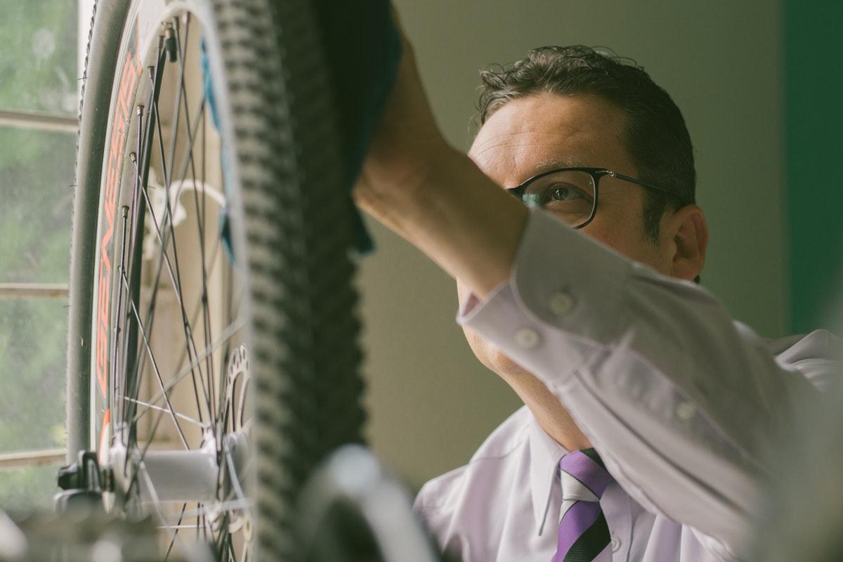 fiets schoonmaken