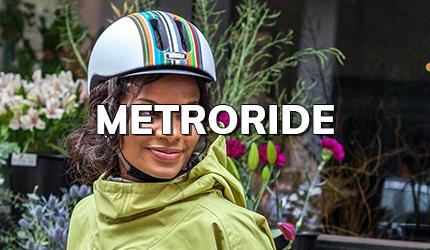 Nutcase Metroride - stijlvolle fietshelm