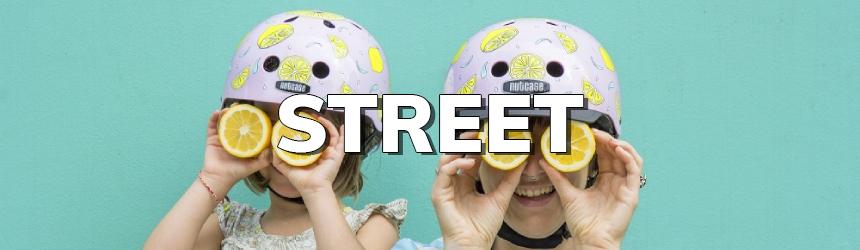 Nutcase Street helmen