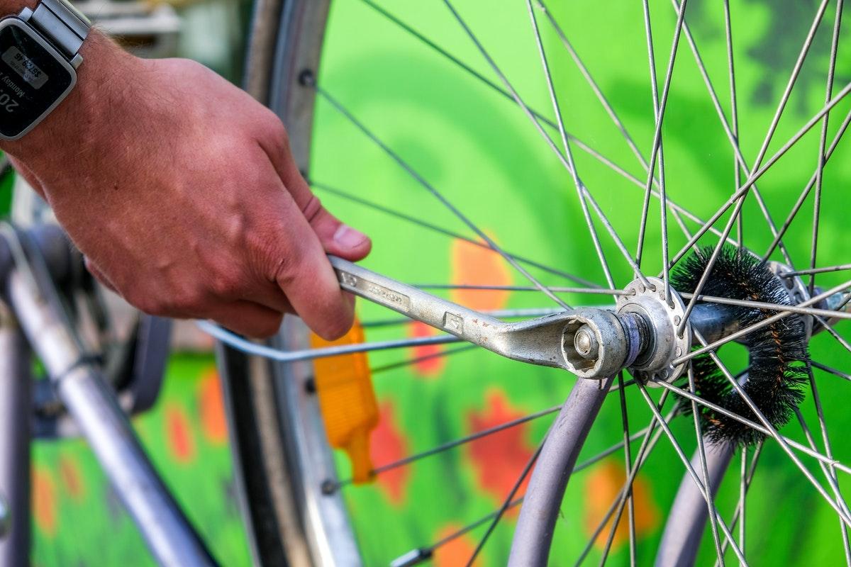 fietsbanden checken